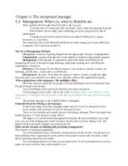 Management Ch. 1-16 Notes