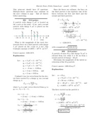 Electric Force, Field, Gauss Law-solutions.pdf