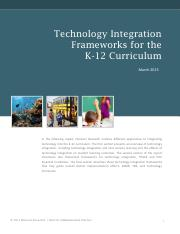 Technology Integration Frameworks for the K-12 Curriculum (1).pdf