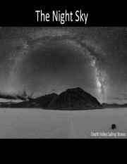 Lecture 2- The Night Sky (Full)