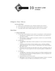 Chapter 10 Textbook Outline and Answers