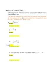 Math 133 1102a unit 4 group project