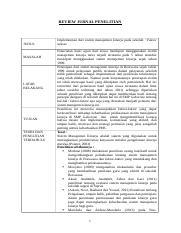 Tugas Manajemen Sumber Daya Manusia Review Jurnal Pengaruh