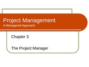 chapter 3 - Project Manager