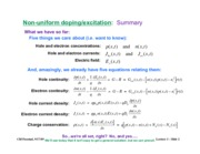 Solving The Five Equations notes