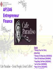 Case 6 Cafe Paradiso Business Plan bn part