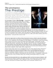 The Prestige Film Review by Tri.docx