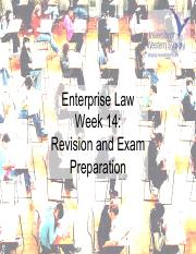 Week 14 - Exam Preparation and Course Revision