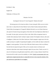 Essay assignment 2