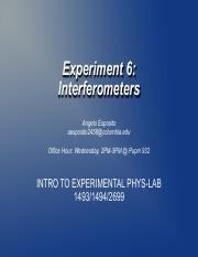 Lab6_Interferometer