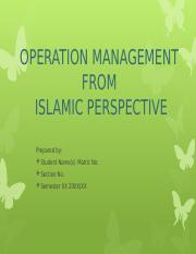 OM Islamic Perspective.pptx