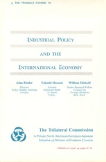 INDUSTRIAL POLICY AND INTERNATIONAL ECONOMY