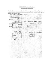Homework 2 Solution on Introduction to Electrical Engineering