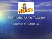 2011.1 An Introduction to Taxation