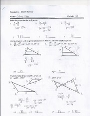 Review of Proportions and Finding Side Lengths