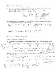 PHYS 244 - Exam 2 Solution