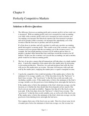21783979-Chapter-9-Perfectly-Competitive-Markets