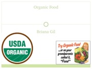Organic Food Powerpoint