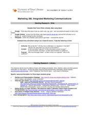 Marketing_382__Integrated_Marketing_Communications_Starting_Research_–_Web