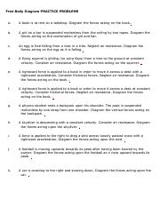 22+ Free Body Diagrams Worksheet Answers Wallpapers
