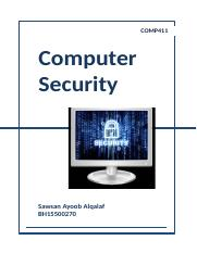 Computer Security - Comp411.docx