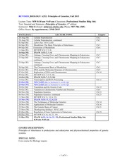 BIOL A252 syllabus (Fall 2013)