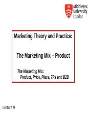 MKT1120 Lecture 9 Managing Products.ppt