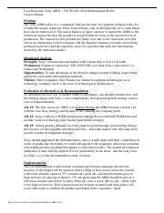 sony aibo case study analysis