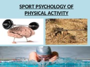 7. Sport Psychology of Physical Activity