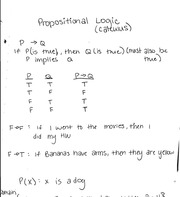 Propositional logic notes
