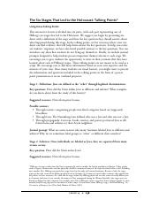 4 Pages Decision Making Injustice Lesson14 Talking Points