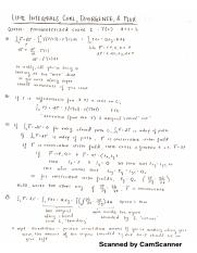 Vector Calculus Concept Review
