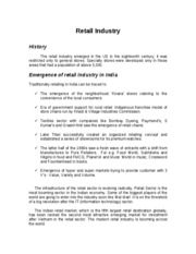 retail sector