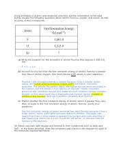 Units 1, 2, 5 FRQ.docx - Elemental sulfur can exist as ...