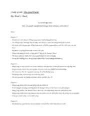 Study Guide- The Good Earth copy