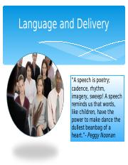 Language+and+Delivery+Fall+2013 copy.ppt