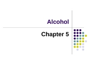 Ch 5 - Alcohol
