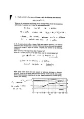 Phys 200 Midterm Solutions