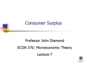 07. Consumer Surplus