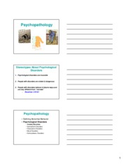 04-22 Psychopathology