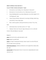 HART 122 Midterm Study Guide Part 4