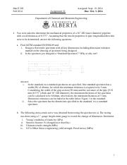 Home work #2 -fall 2014 final solutions