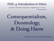 ethics9 (consequentialism vs. deontology)