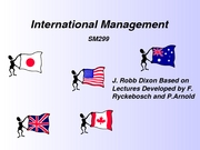 International+management