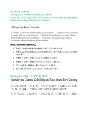 JAPN1013_W11_WB_answers_weekly schedule_imasu_arimasu_Chapter 2 kanjis.pdf