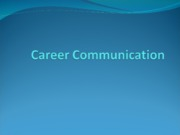 Career_communication