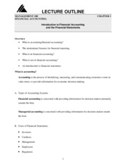 Lecture_Outline-Chapter_One