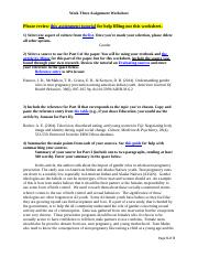 CollierANT101.W3.Assignment Worksheet