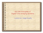 41. Image quality introduction - 2011