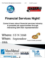 Financial Services Night Sep-2013